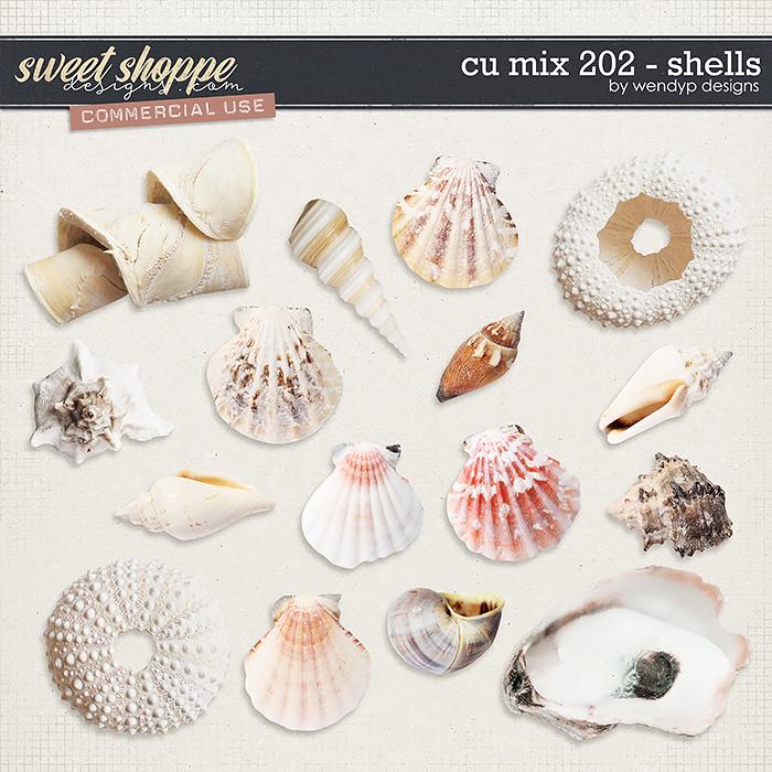 CU Mix 202 - shells by WendyP Designs