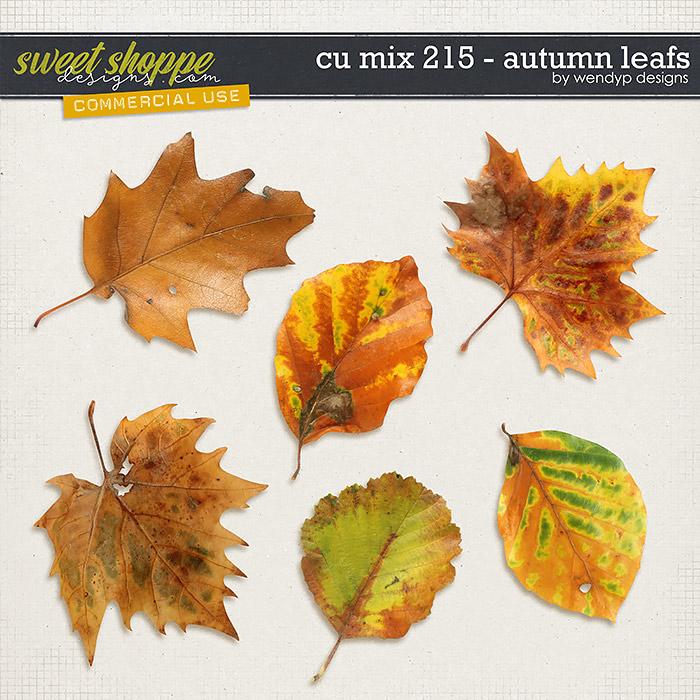 CU Mix 215 - autumn leafs by WendyP Designs