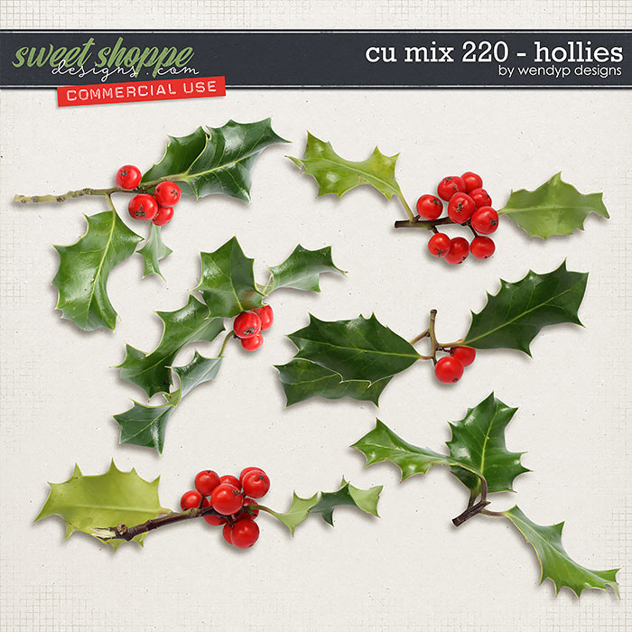 CU Mix 220 - Hollies by WendyP Designs