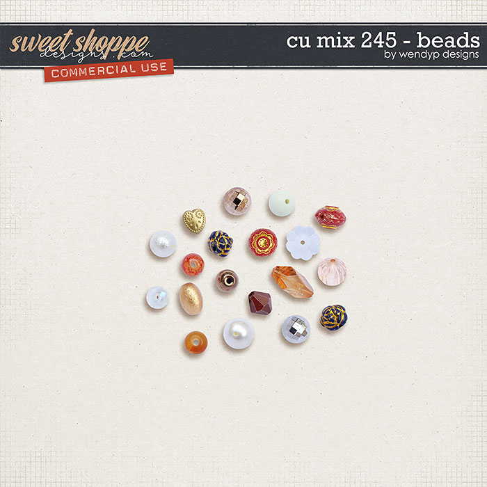 CU Mix 245 - Beads by WendyP Designs