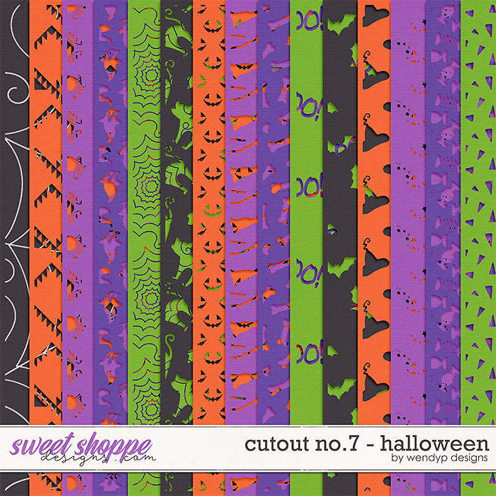 Cutouts no.7 - Halloween by WendyP Designs