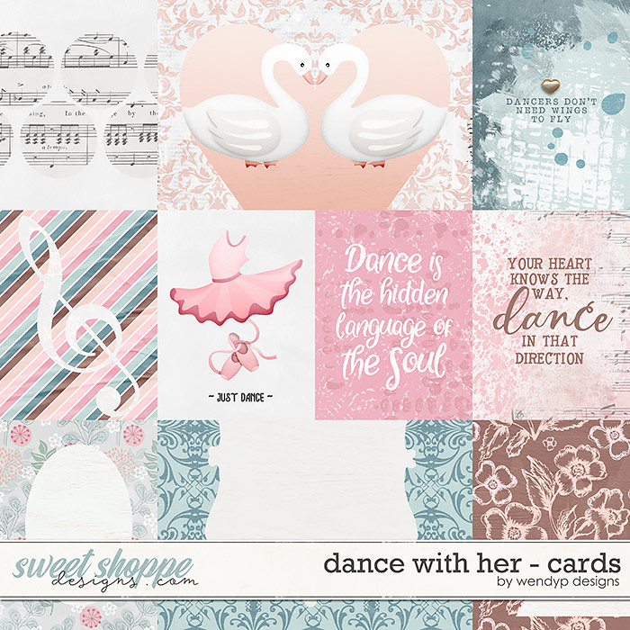 Dance with her - Cards by WendyP Designs