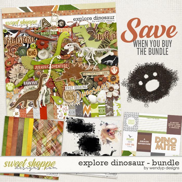 Explore dinosaur Bunde *FWP* by WendyP Designs