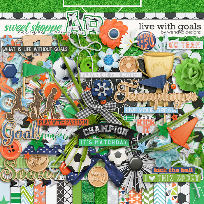 Live with goals by WendyP Designs