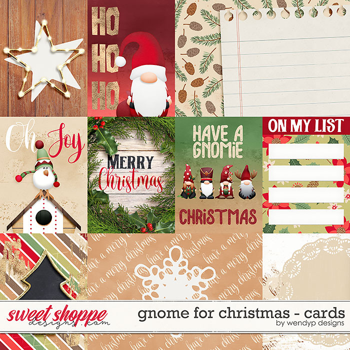 Gnome for Christmas - Cards by WendyP Designs
