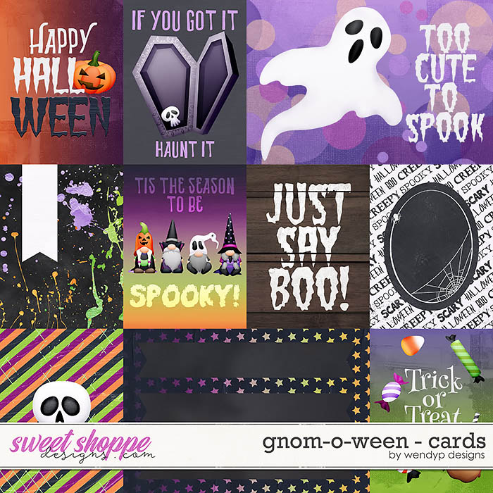 Gnom-o-ween - Cards by WendyP Designs