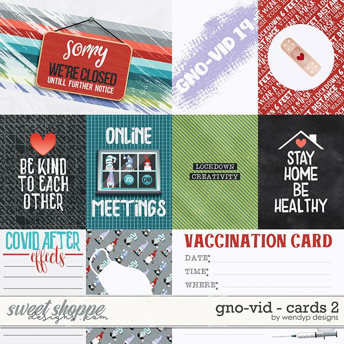 Gno-vid - Cards 2 by WendyP Designs