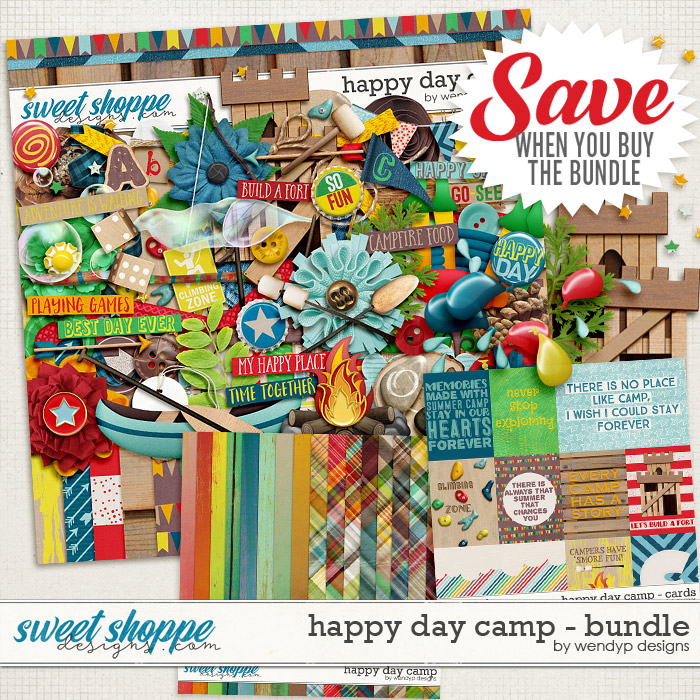 Happy day camp - bundle by WendyP Designs