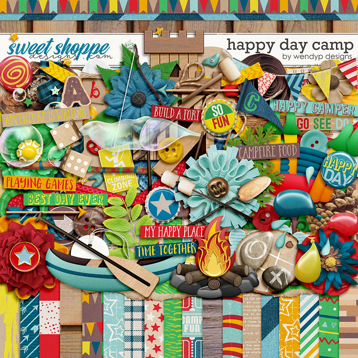 Happy day camp by WendyP Designs