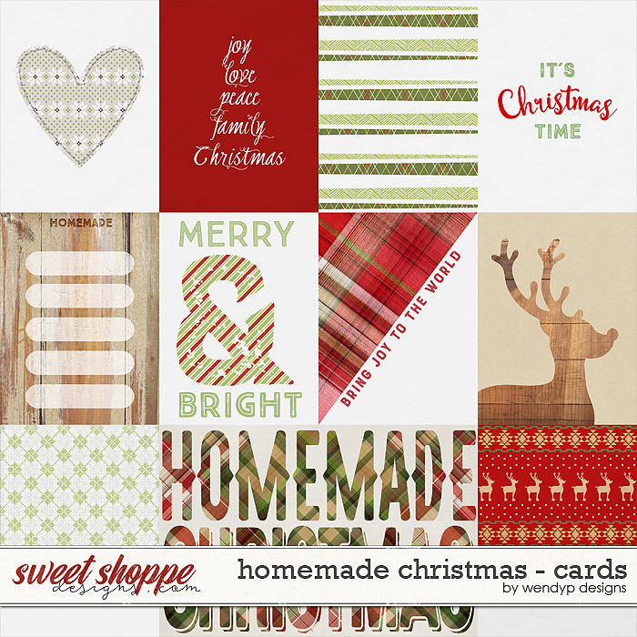 Homemade Christmas - Cards by WendyP Designs