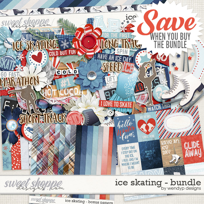 Ice skating - Bundle by WendyP Designs