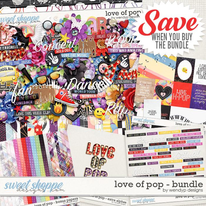 Love of pop - Bundle & FWP by WendyP Designs