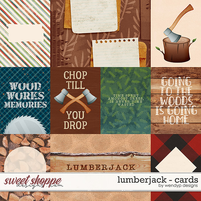 Lumberjack - Cards by WendyP Designs