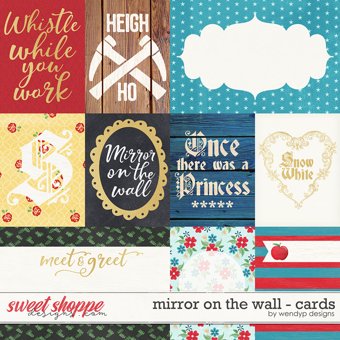 Mirror on the wall - cards by WendyP Designs