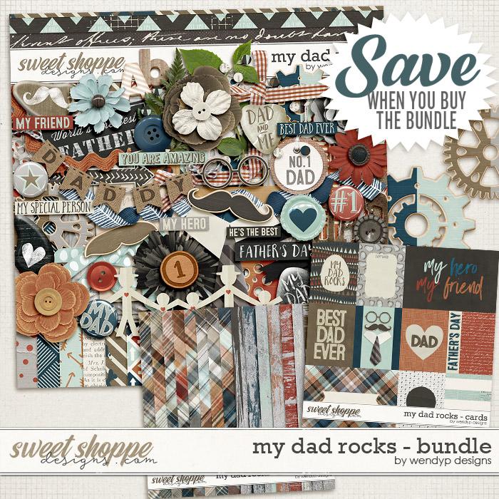 My dad rocks - Bundle by WendyP Designs