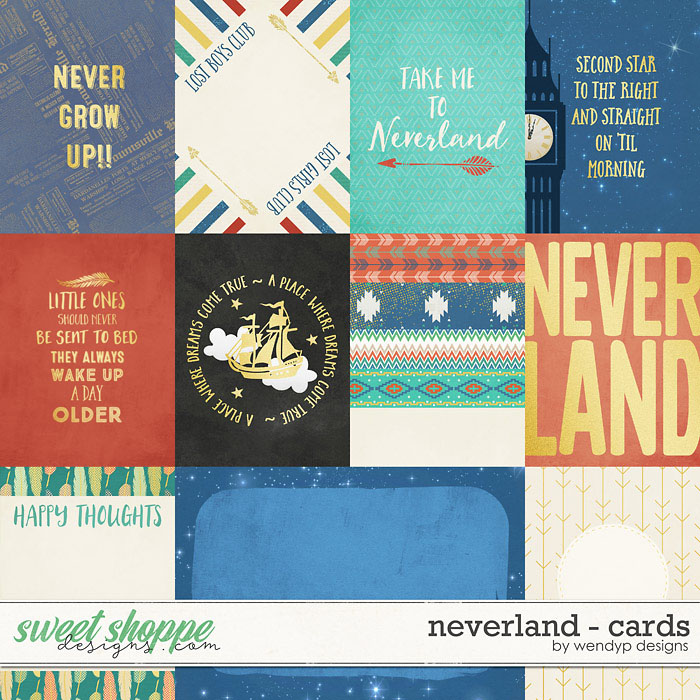 Neverland - Cards by Wendyp Designs