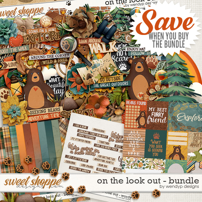 On the look out - bundle by WendyP Designs