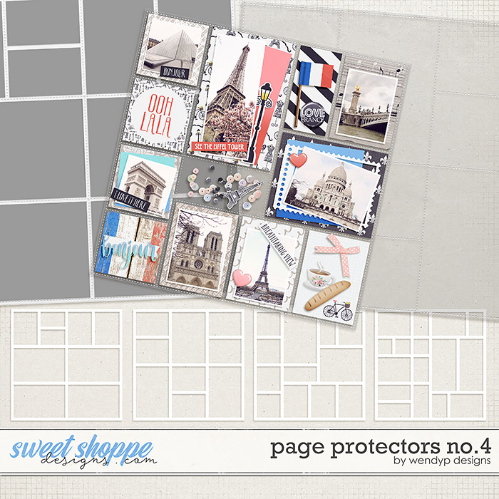Page Protectors No.4 by WendyP Designs
