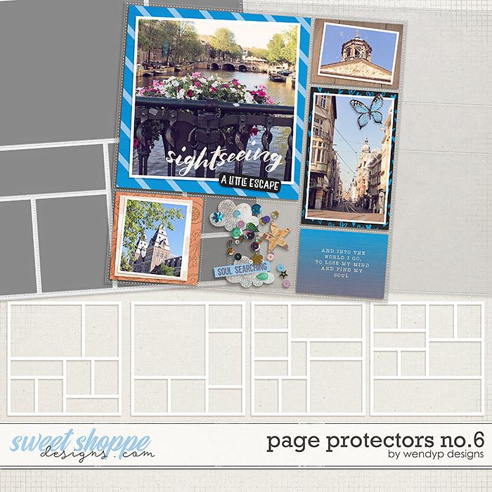 Page Protectors No.6 by WendyP Designs