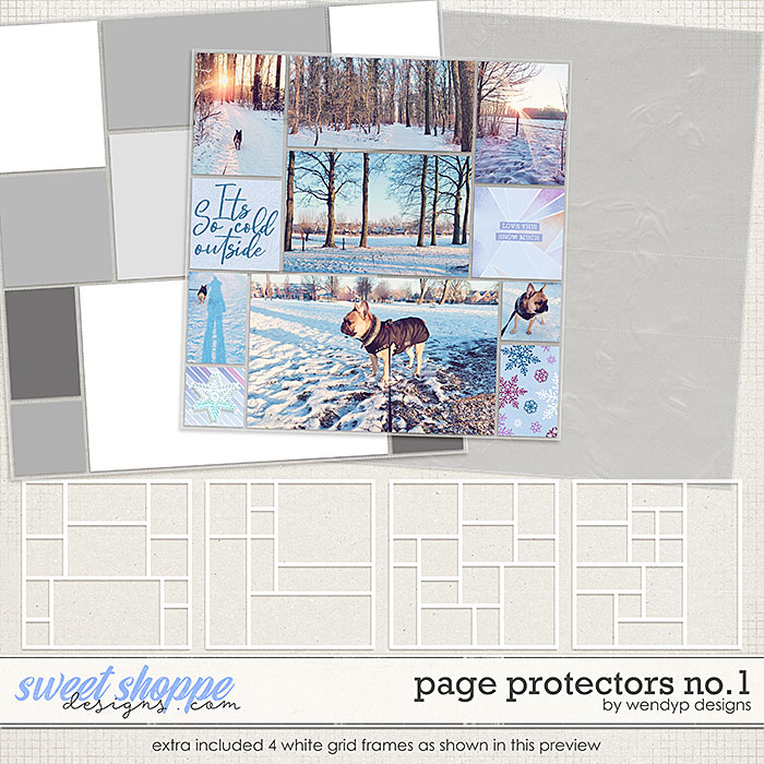 Page Protectors No.1 by WendyP Designs