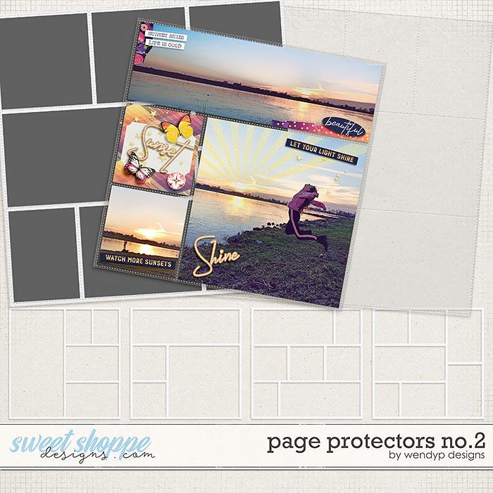 Page Protectors No.2 by WendyP Designs