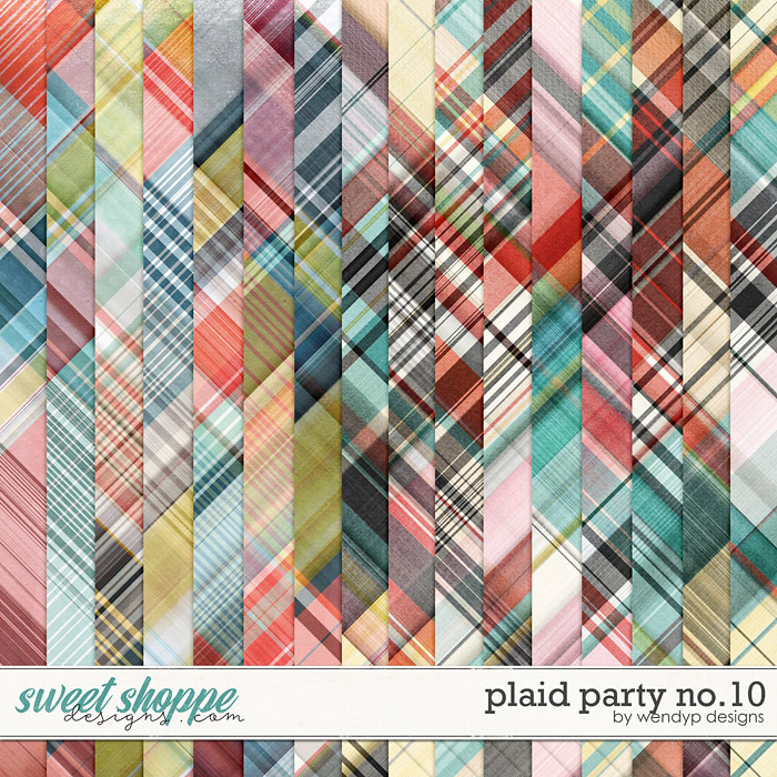 Plaid Party No.10 by WendyP Designs