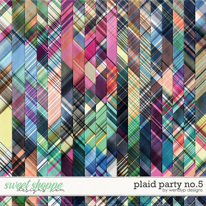 Plaid party no.5 by WendyP Designs
