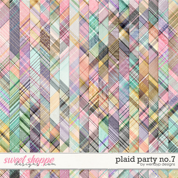 Plaid party no.7 by WendyP Designs