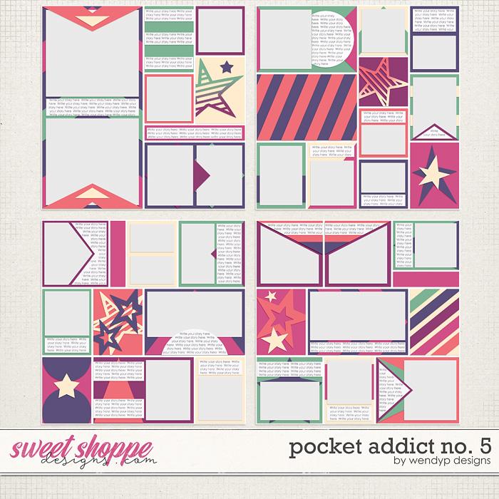 Pocket Addict No.5 by WendyP Designs