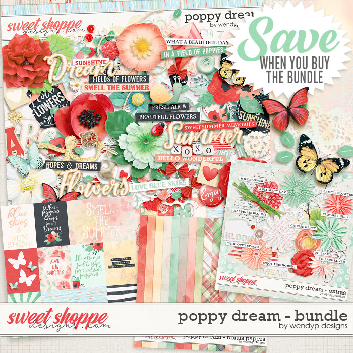 Poppy dream - Bundle by WendyP Designs