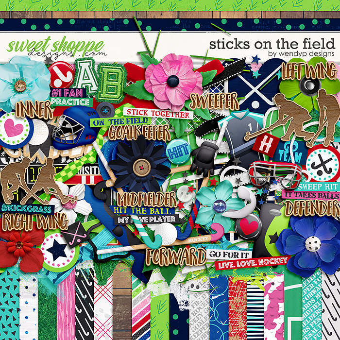 Sticks on the field by WendyP Designs
