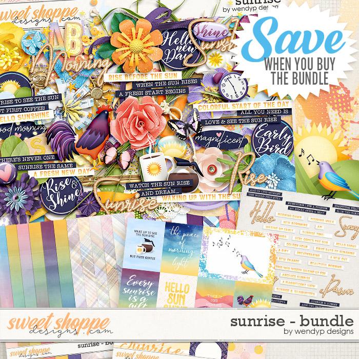 Sunrise - Bundle by WendyP Designs