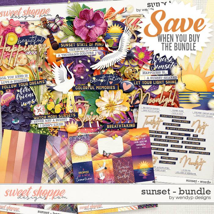 Sunset -  Bundle by WendyP Designs