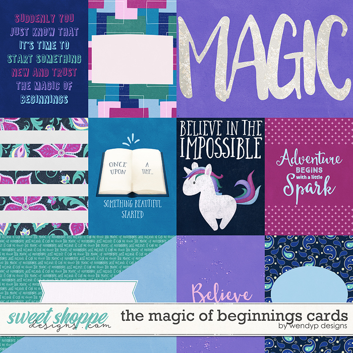 The magic of beginnings - Cards by WendyP Designs