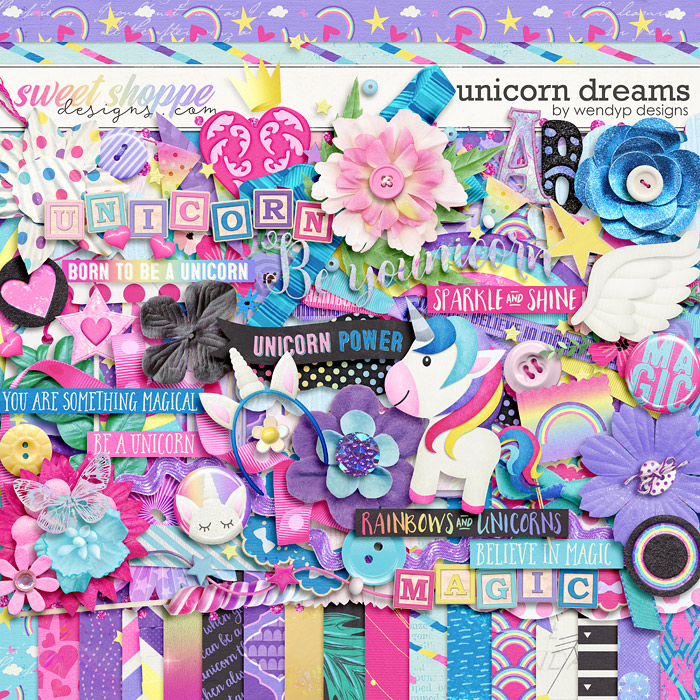 Unicorn Dreams by WendyP Designs