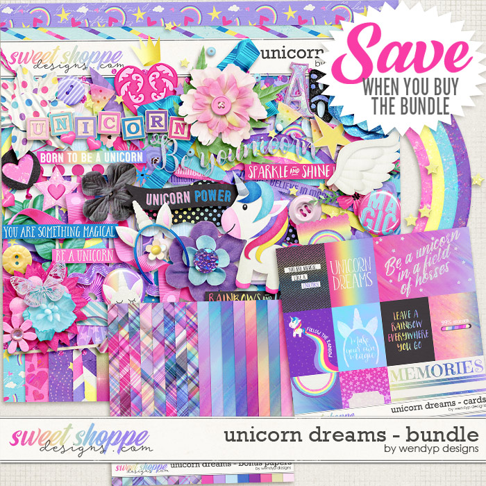 Unicorn Dreams - Bundle by WendyP Designs