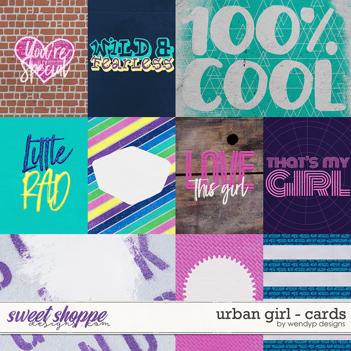 Urban girl - Cards by WendyP Designs