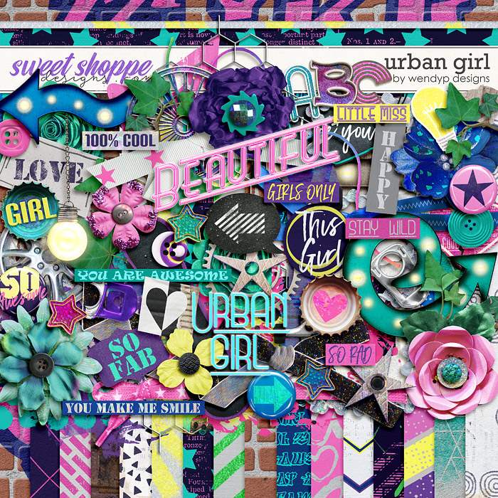 Urban girl by WendyP Designs
