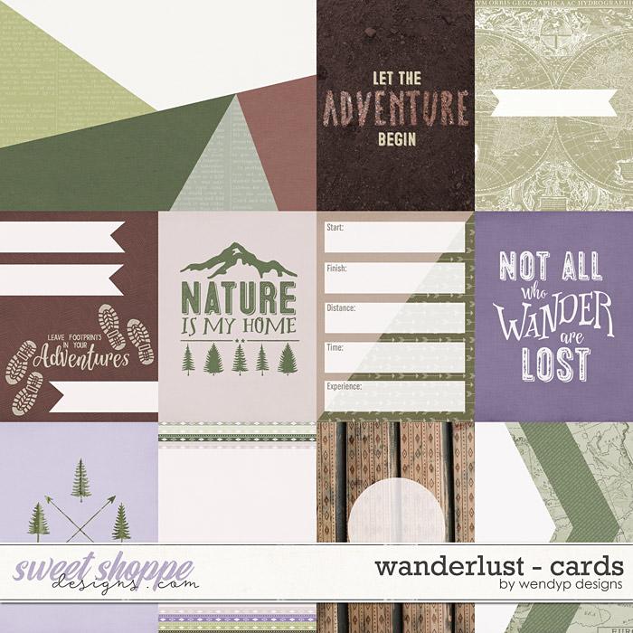 Wanderlust - Cards by WendyP Designs