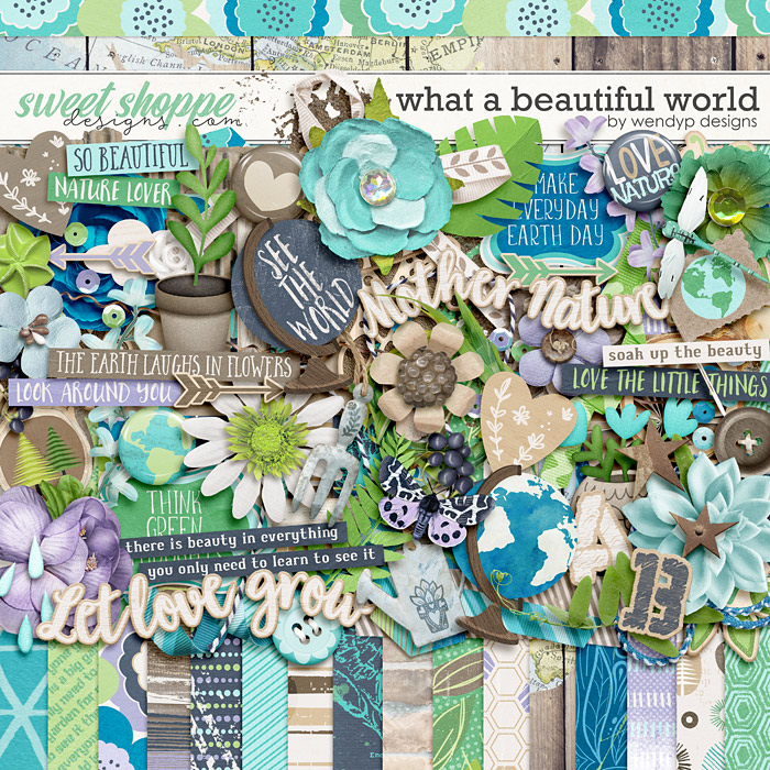What a beautiful world by WendyP Designs