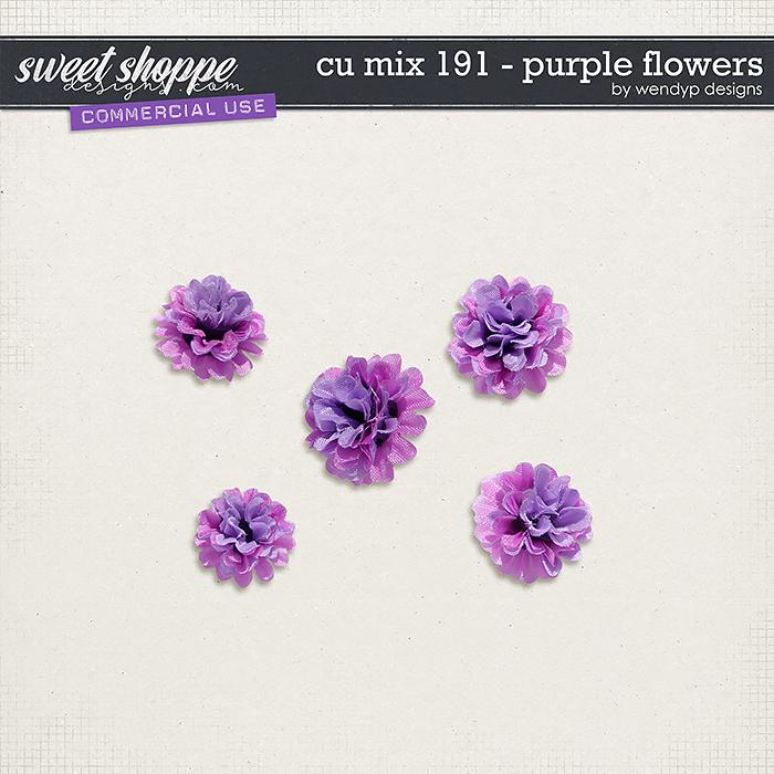 CU Mix 191 - flowers by WendyP Designs