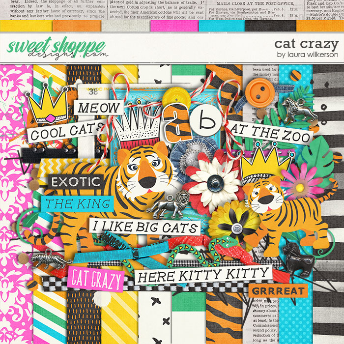 Cat Crazy: Kit by Laura Wilkerson
