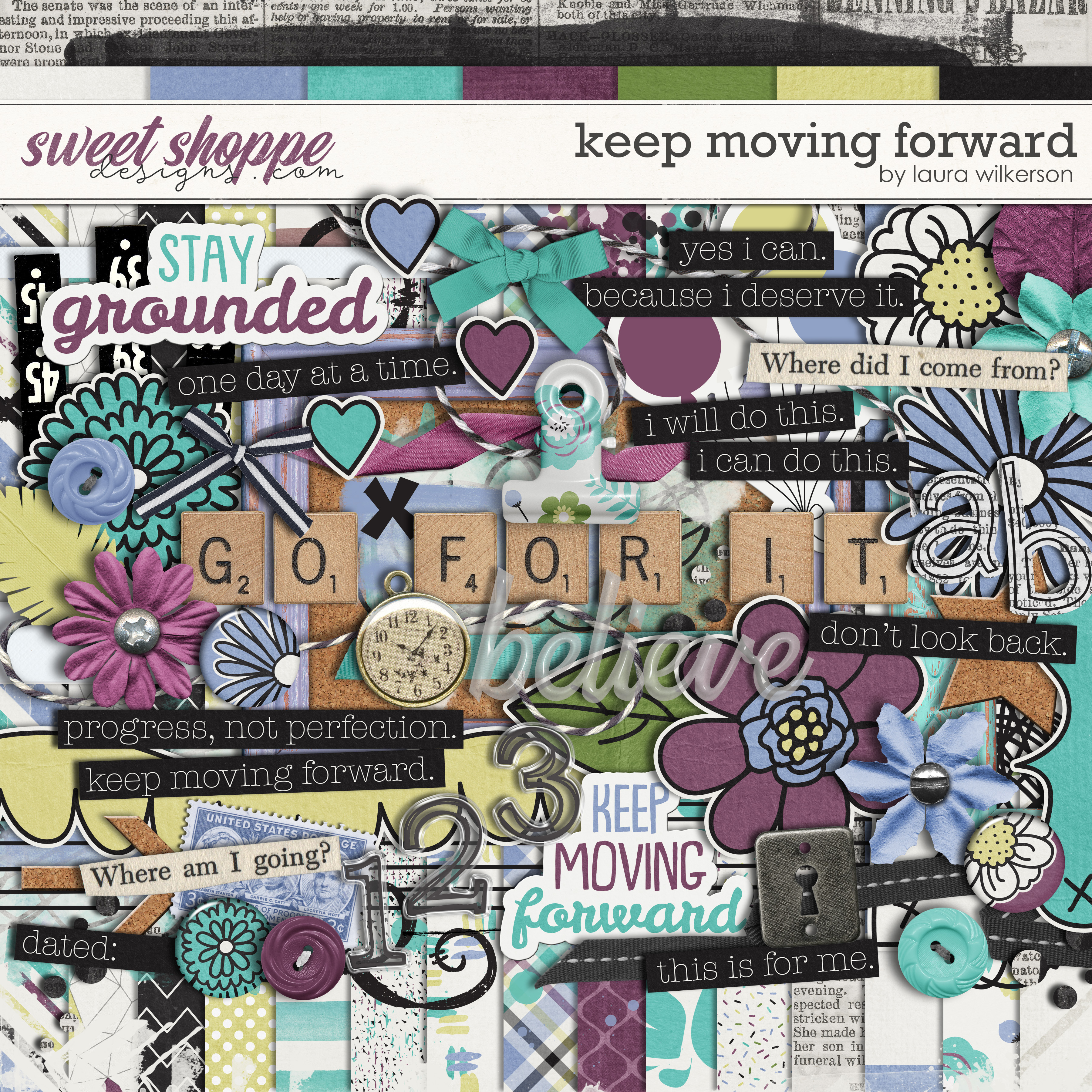 Keep Moving Forward: Kit by Laura Wilkerson