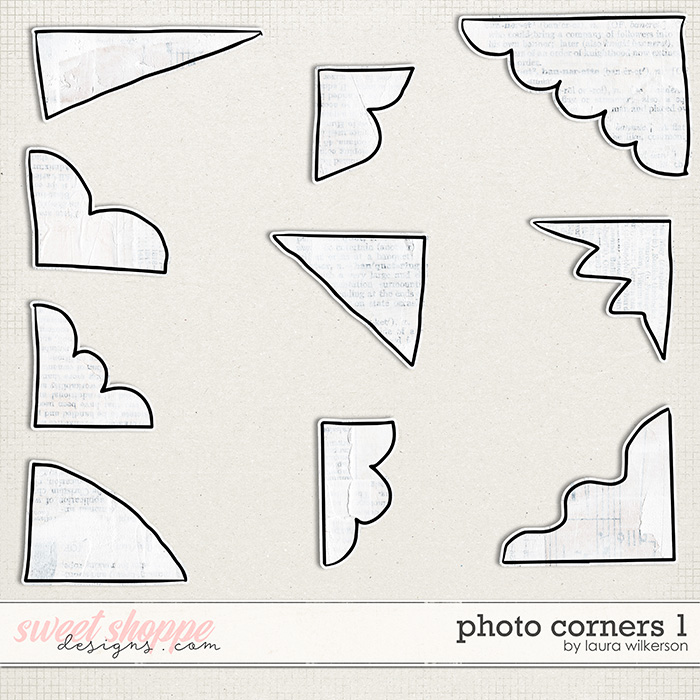 Photo Corners 1 by Laura Wilkerson