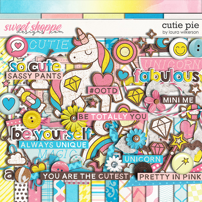 Cutie Pie: Kit by Laura Wilkerson