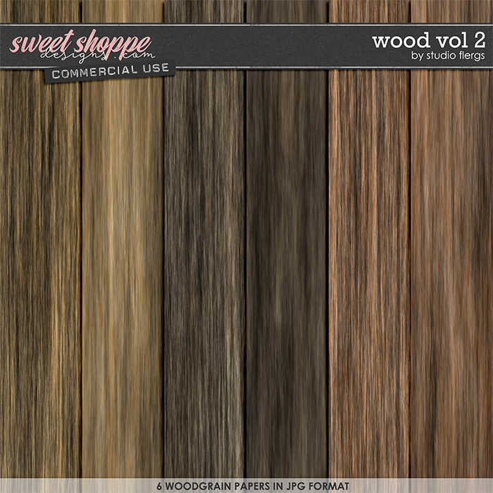 Wood VOL 2 by Studio Flergs