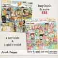 Boy & Girl: KIT COLLECTION by Studio Flergs