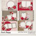 Owl For Love: Bragbook by lliella designs