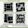 Cindy's Layered Templates - Lots of Snapshots Bundle 9 by Cindy Schneider