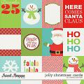 Jolly Christmas Cards by Melissa Bennett